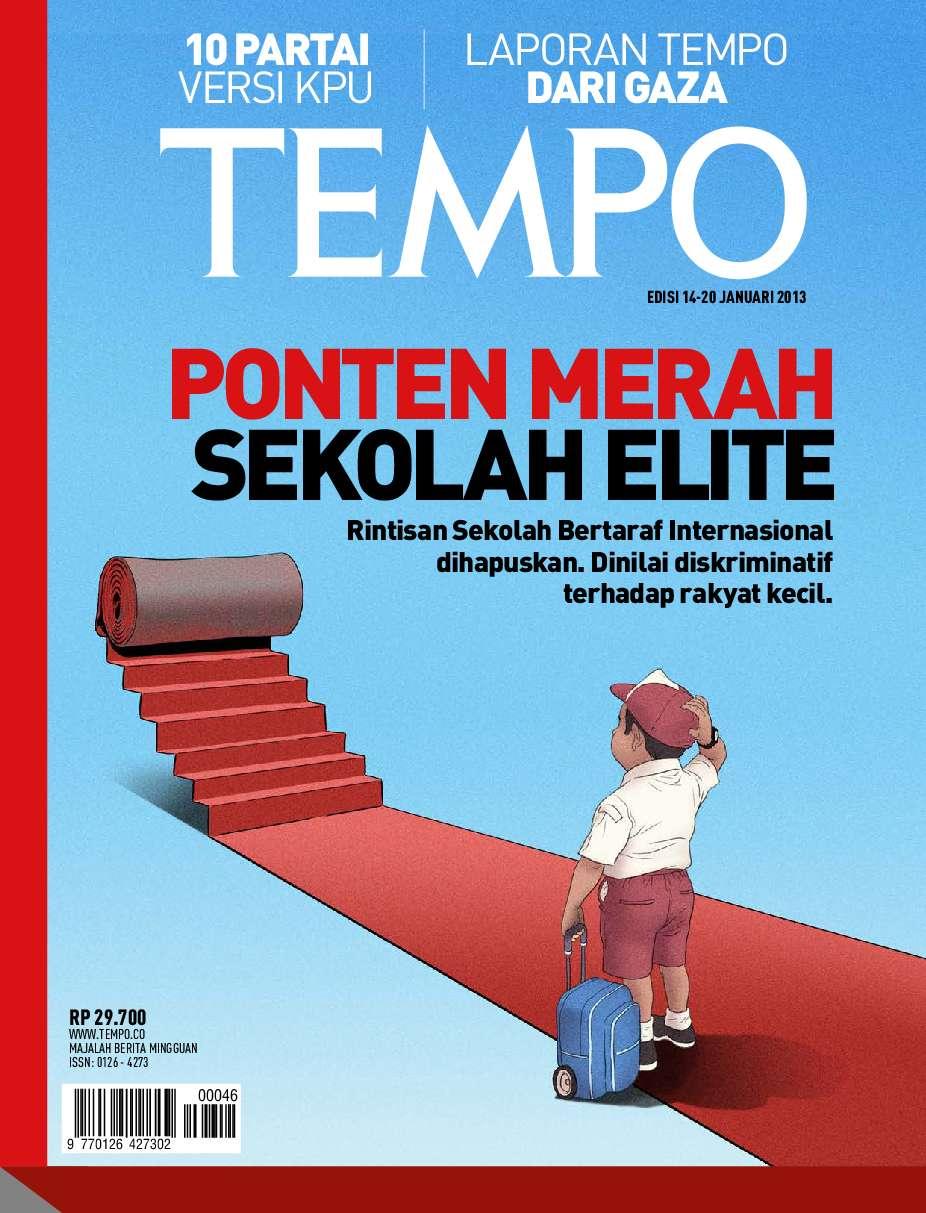 TEMPO Magazine 14–20 January 2013 - Gramedia Digital