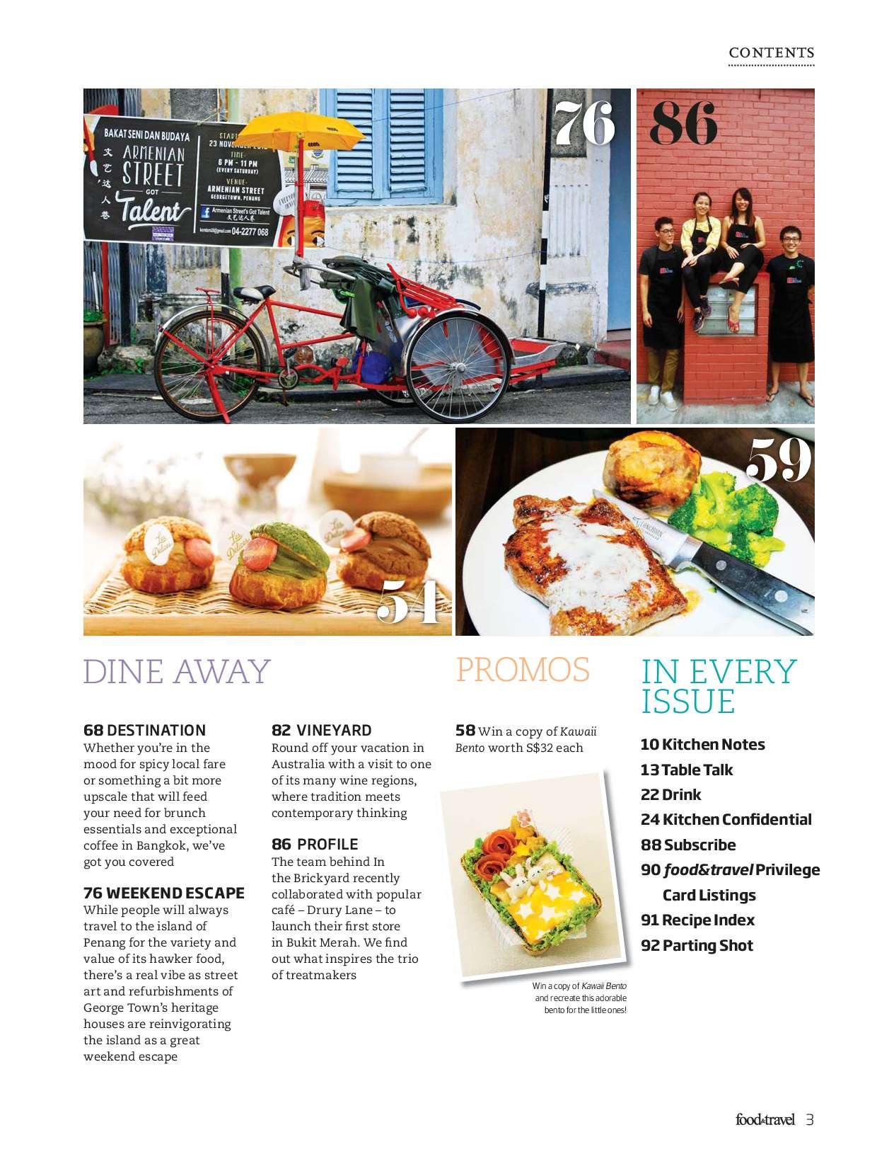 Food & Travel Magazine April 2015 - Gramedia Digital