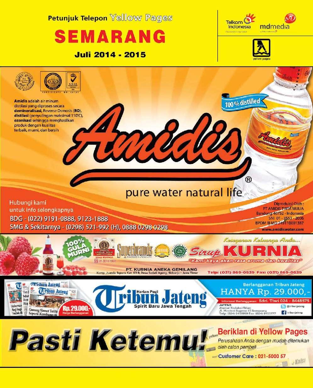 Jual Majalah Yellow Pages Semarang 2014 2015 Gramedia Digital