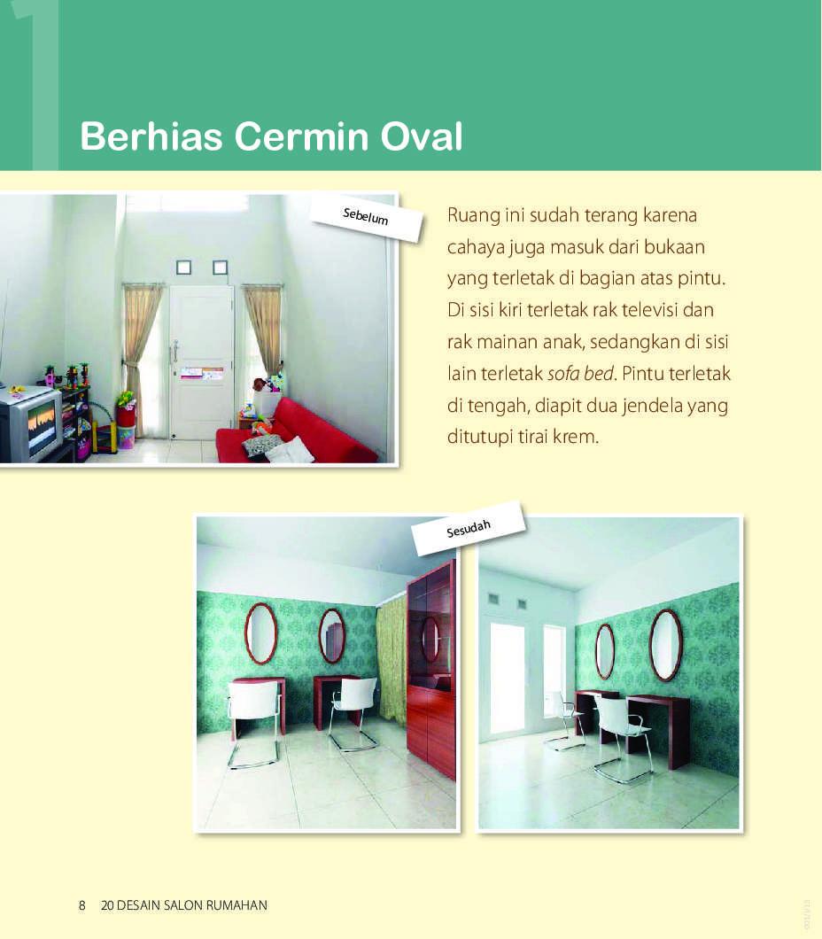 20 Desain Salon Rumahan Book By Erlina Badri Gramedia Digital