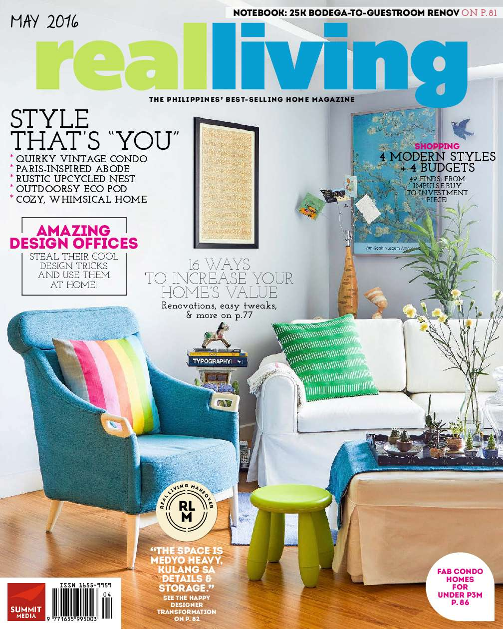 real living philippines magazine may 2016
