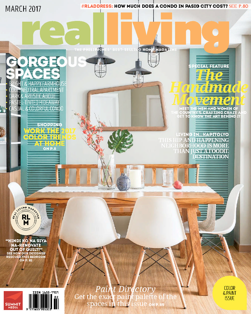 Real living philippines magazine march 2017 gramedia digital for International home decor magazines