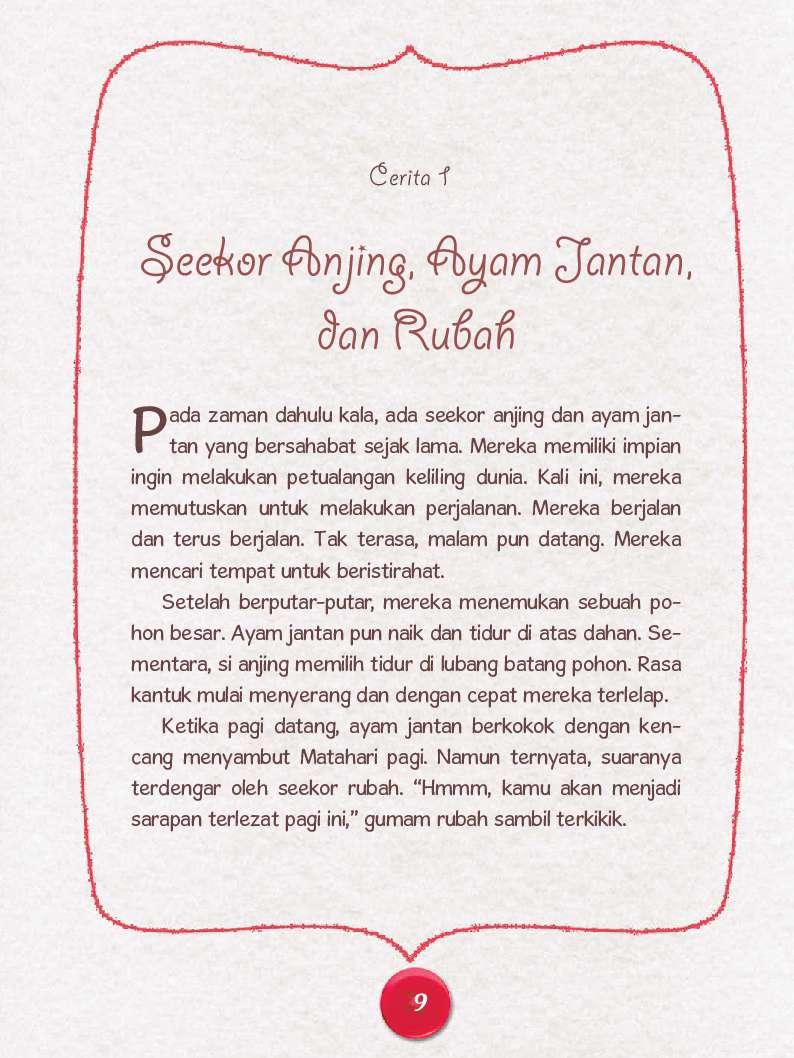 Jual Buku Dongeng Aesop 50 Fabel Flanel Unik Seru Oleh Watiek