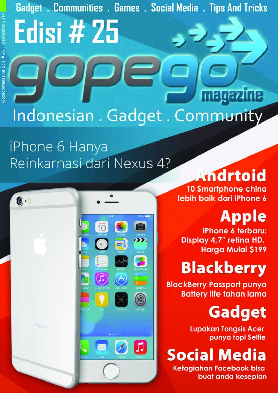 Gopego Magazine September 2014 - Gramedia Digital