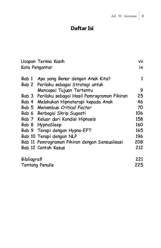 Hypnotherapy For Children Book By Adi W Gunawan Gramedia Digital