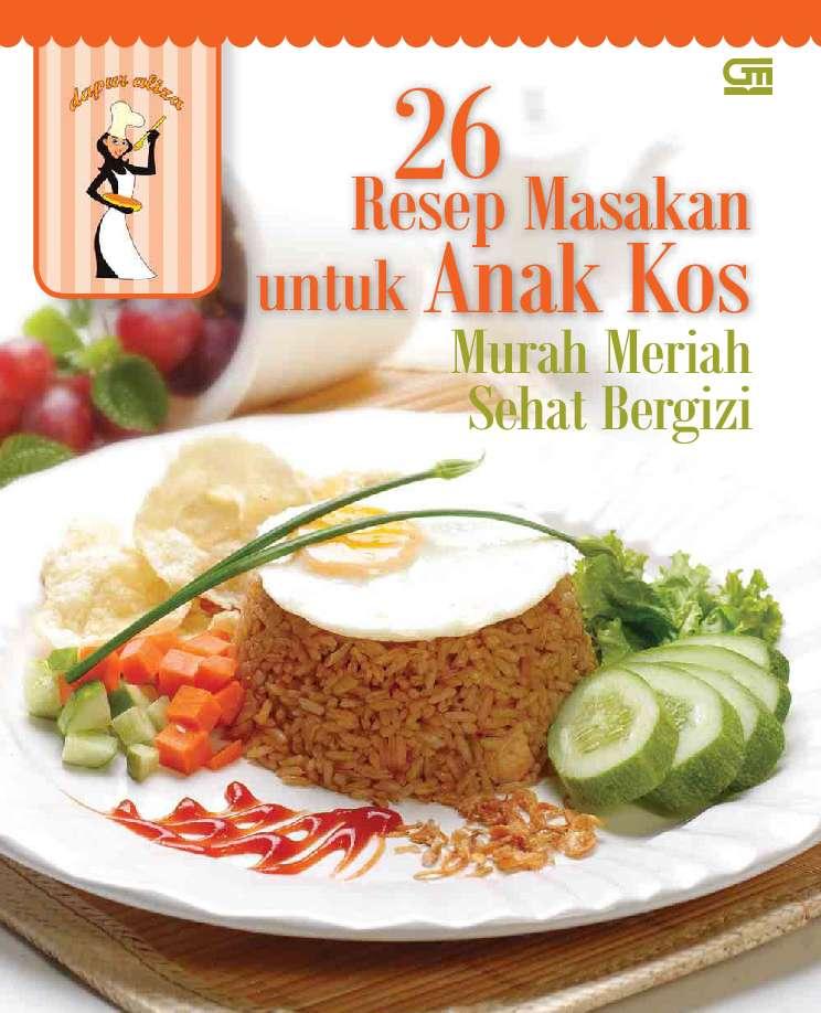 Jual Buku 26 Resep Masakan Untuk Anak Kos Oleh Dapur Aliza