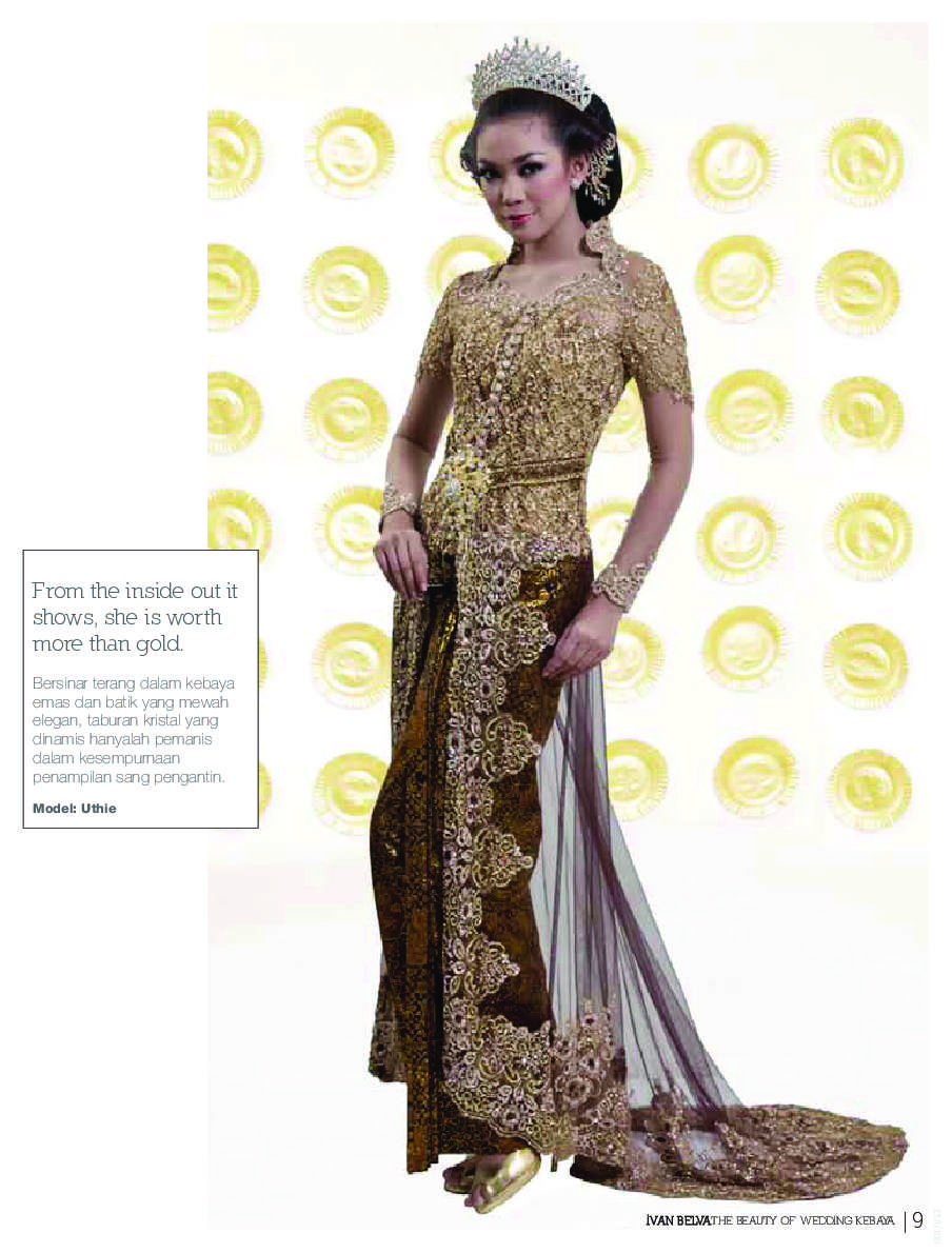 Jual Buku Ivan Belva The Beauty Of Wedding Kebaya Oleh Nana