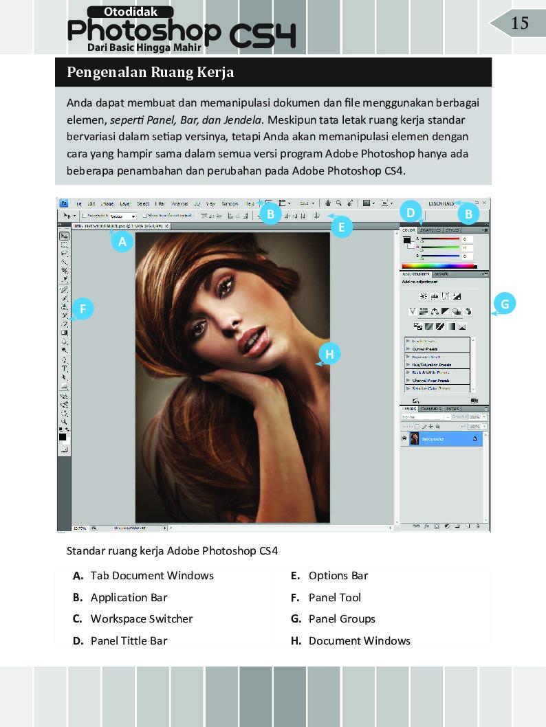Jual Buku Otodidak Photoshop CS4 Dari Basic Hingga Mahir