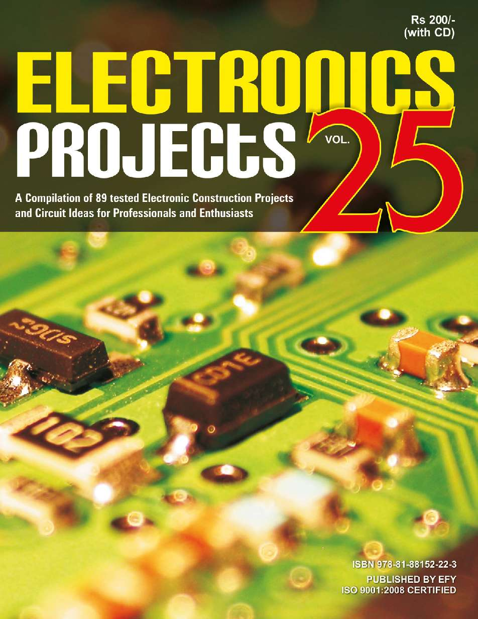 Electronics Projects Vol 25 Book By Efy Enterprises Pvt Ltd Basic Circuit Gramedia Digital