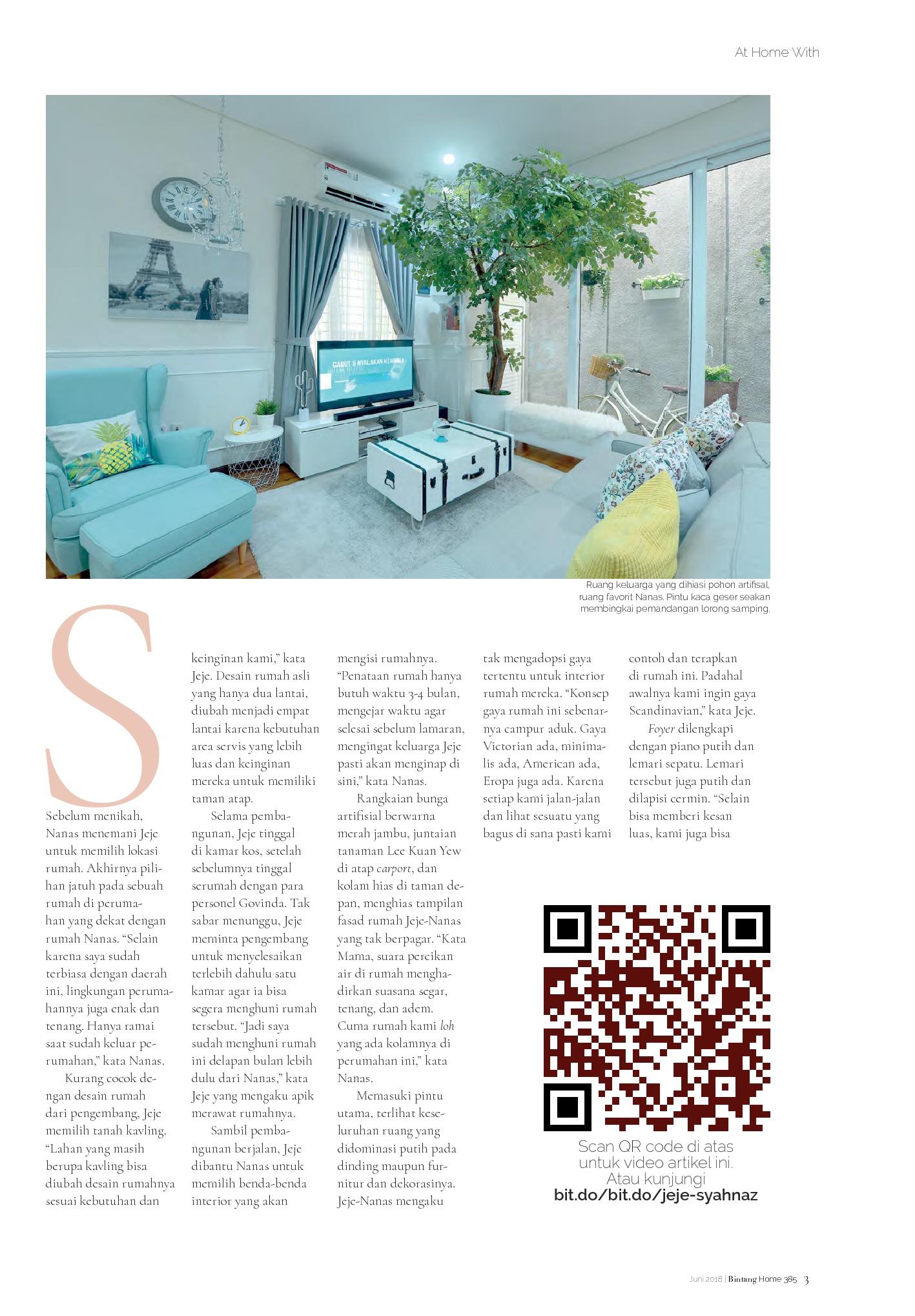 Bintang Home Magazine Ed 385 June 2018 Gramedia Digital