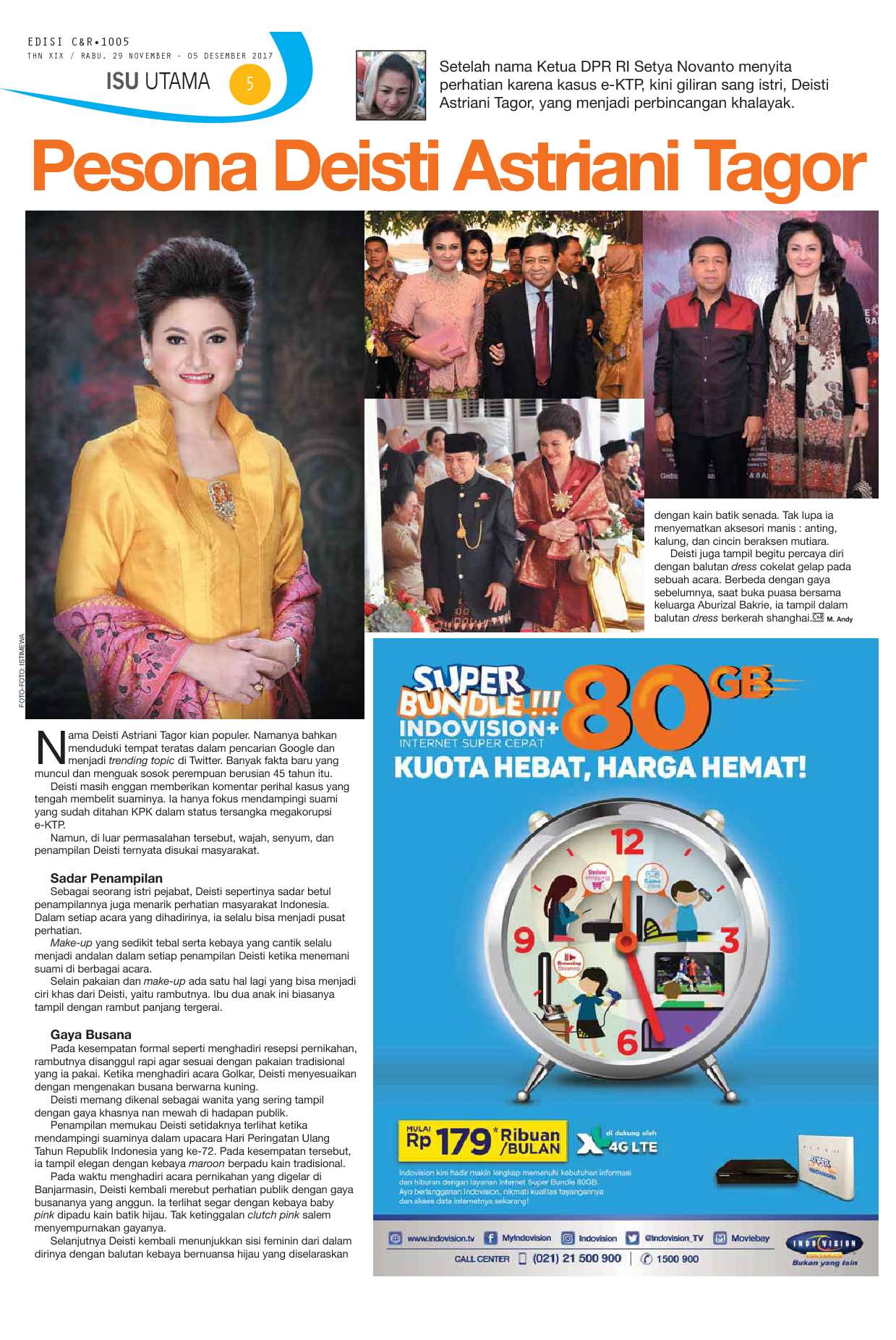 C&R Magazine ED 1005 November 2017 - Gramedia Digital