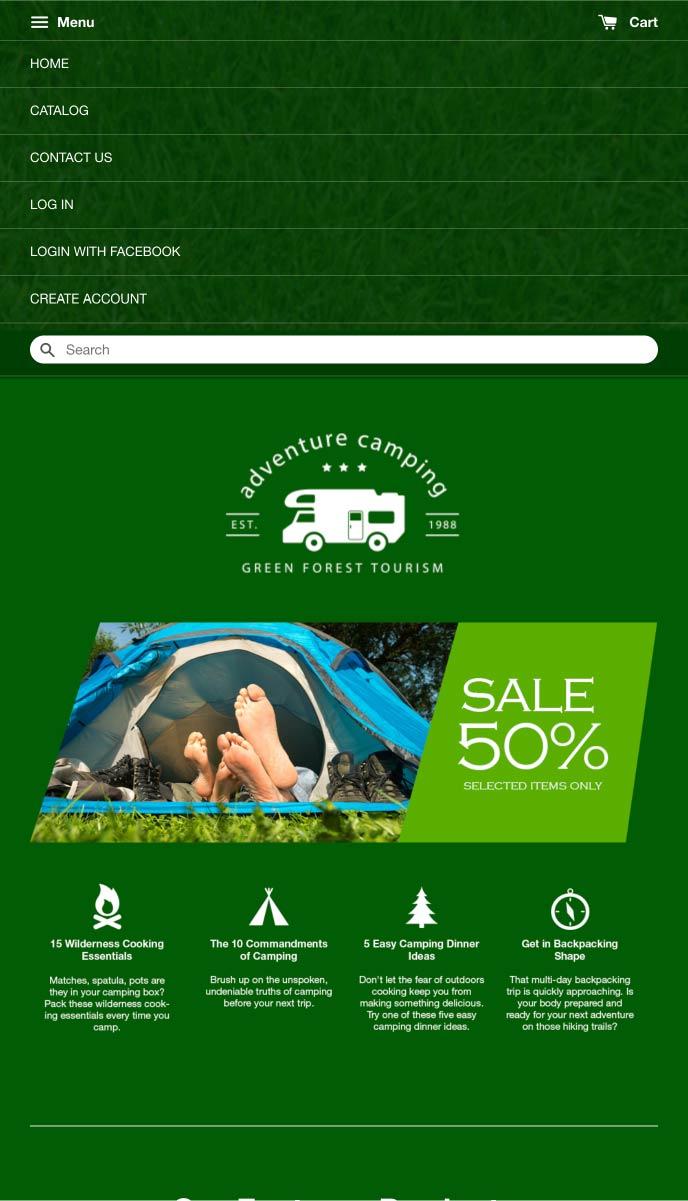 Adventure Camping | EasyStore