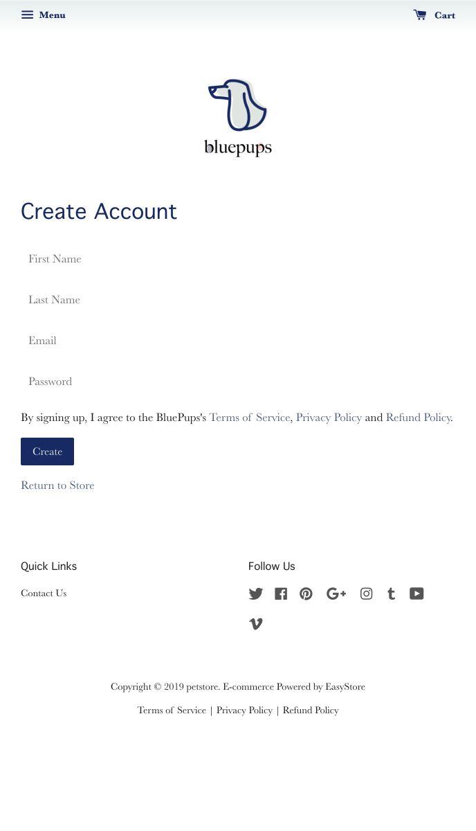 BluePups | EasyStore