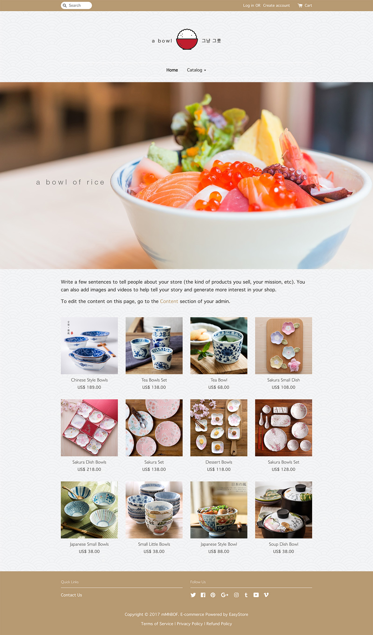 EasyStore theme | Bowl & Kitchen