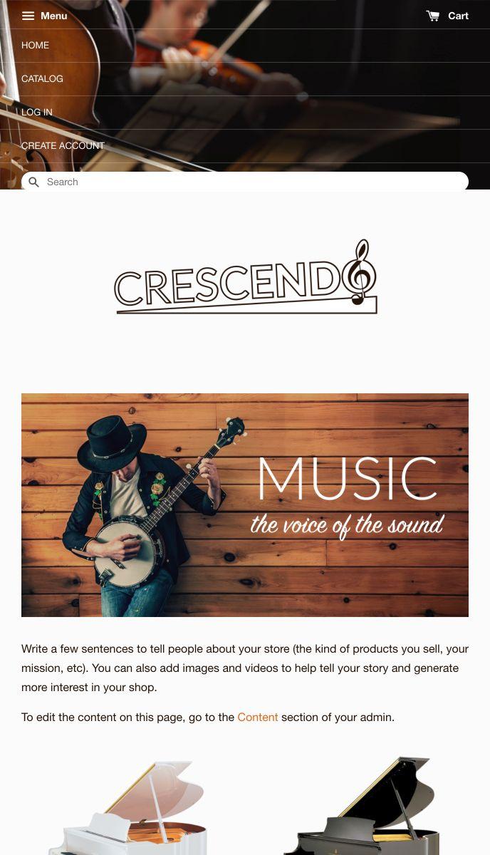 Crescendo | EasyStore