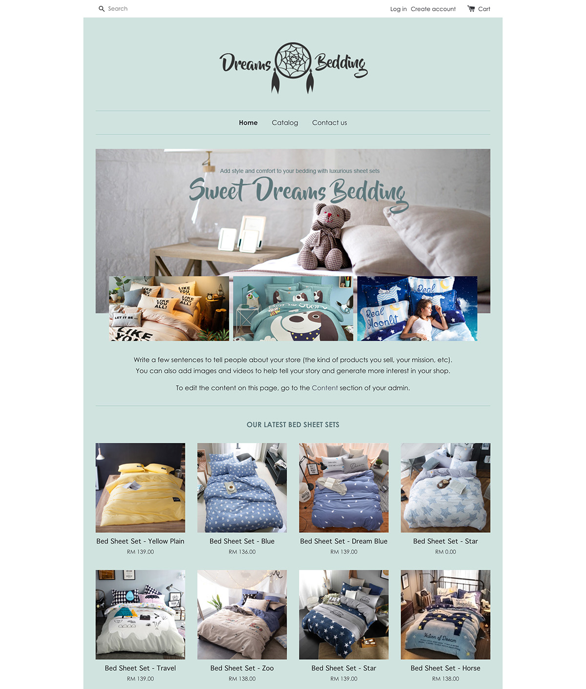 EasyStore theme | Dreams Bedding