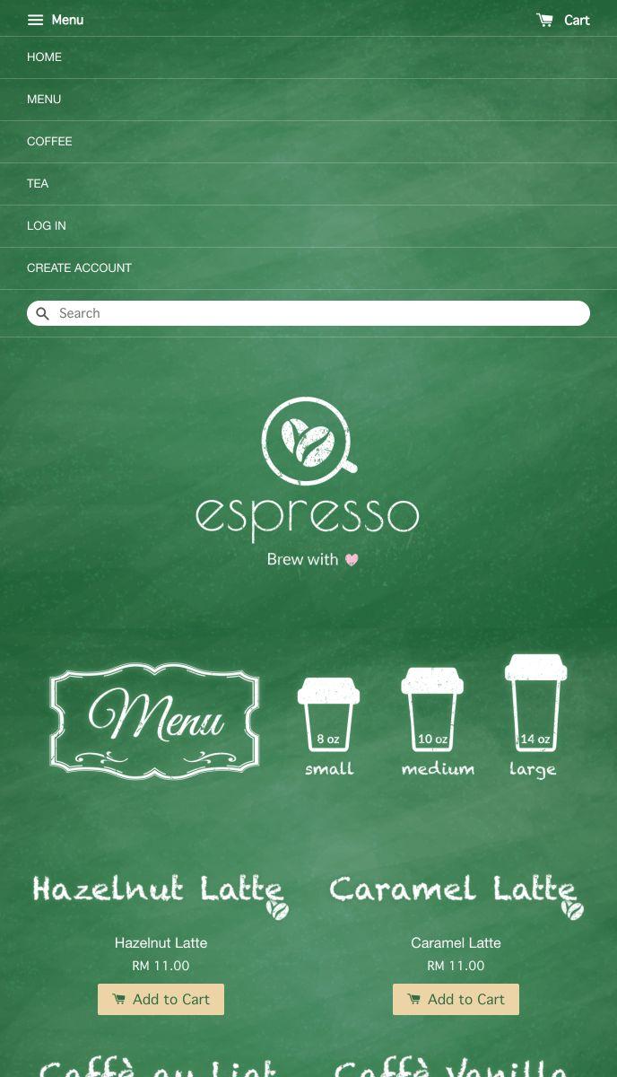 Espresso | EasyStore
