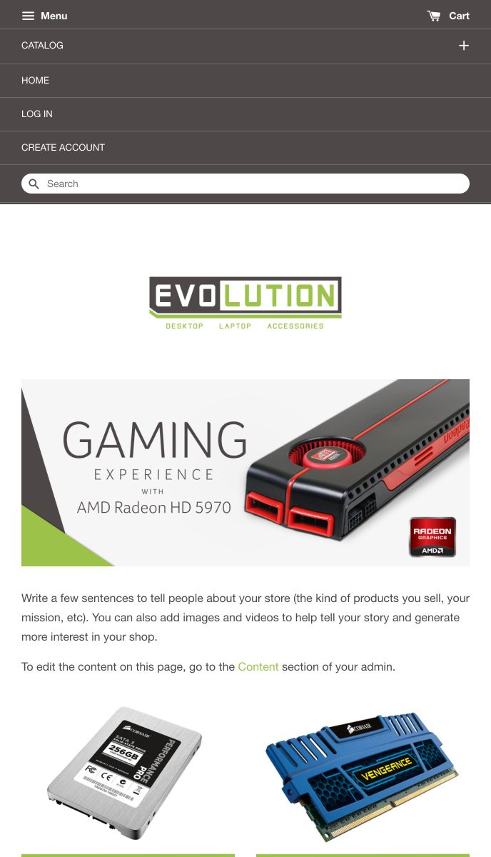 Evolution | EasyStore