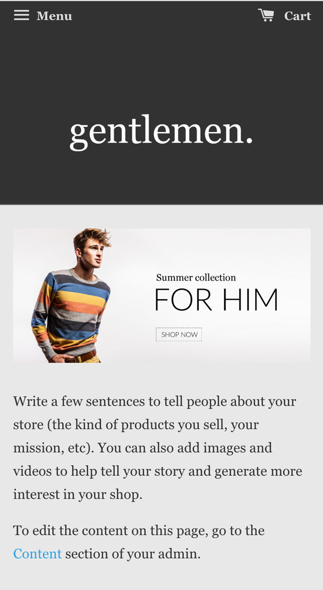 Gents | EasyStore