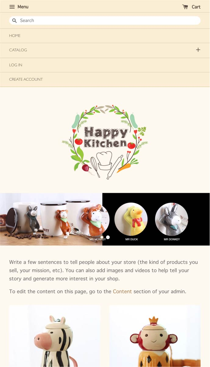 Happy Kitchen | EasyStore