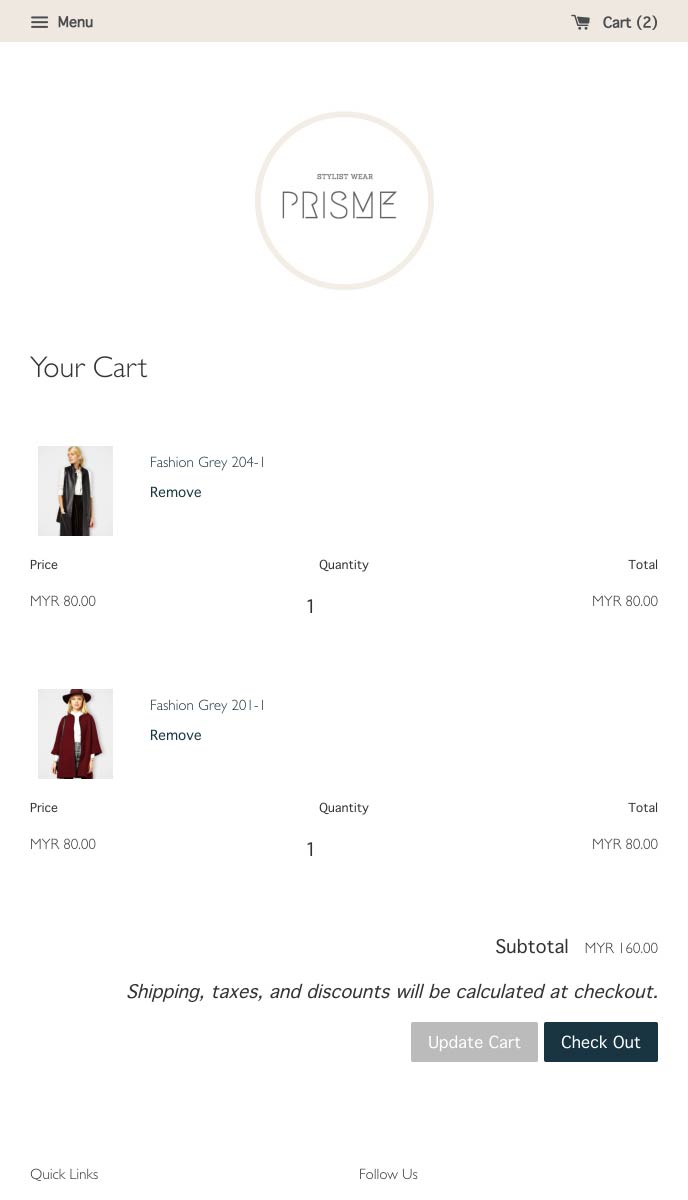 Prisme | EasyStore