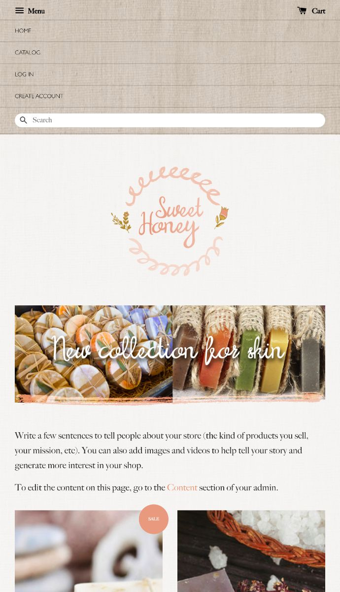 Sweet Honey | EasyStore