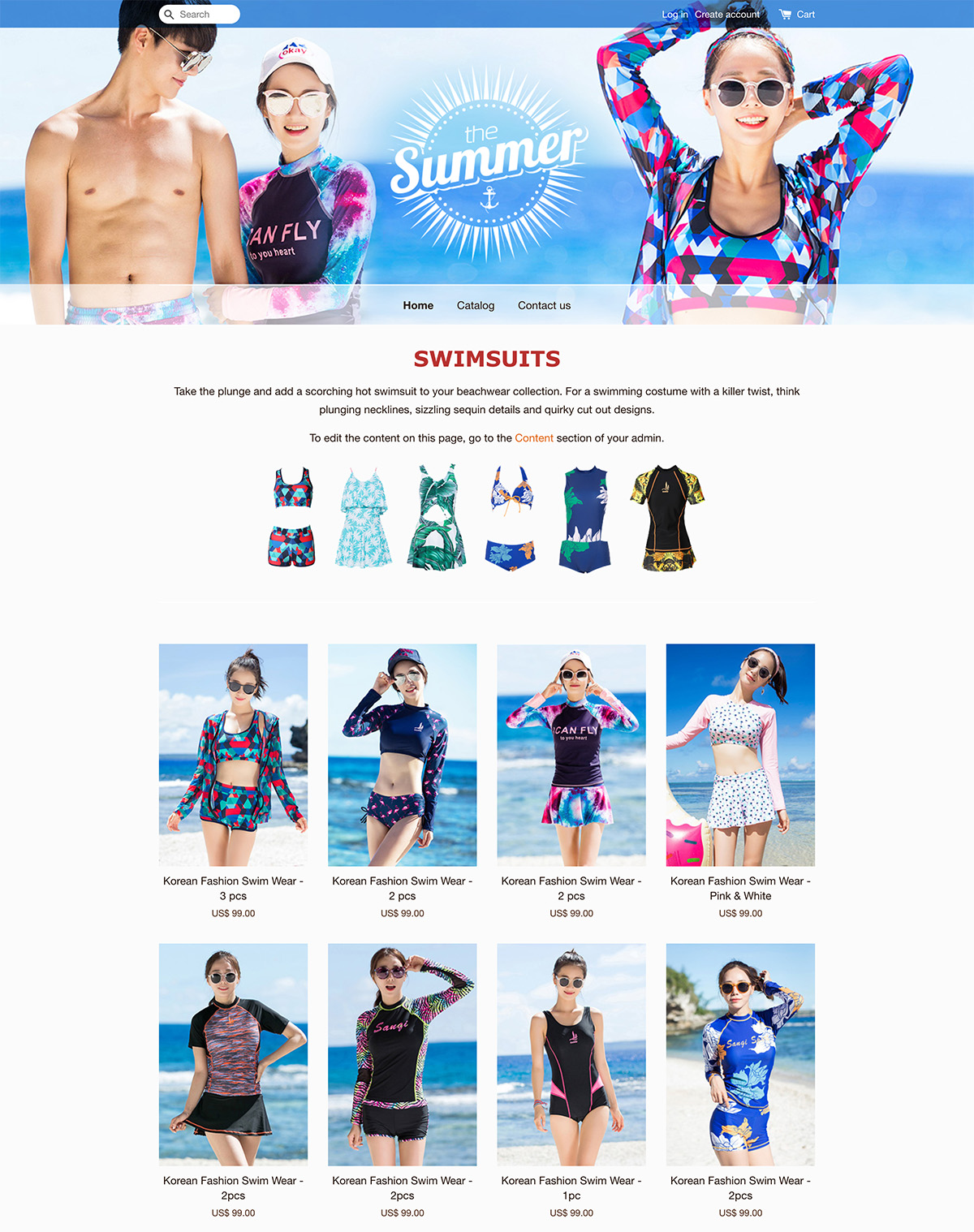 EasyStore theme | The Summer