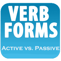 education gateway active and passive verb forms