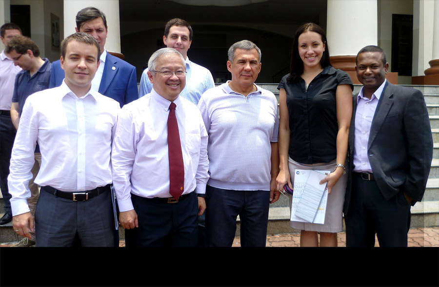 Educare International Consultancy (EIC) Visitors - President of the Republic of Tatarstan Visit