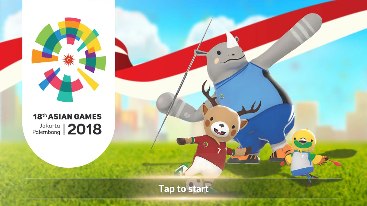 Aplikasi 18th Asian Games 2018 Official Mobile Games (Google Play)