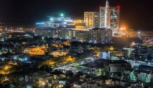NIght_view_of_Clifton_Karachi