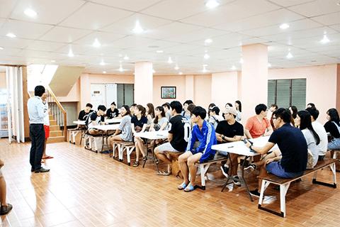 學生餐廳(兼作小禮堂使用)-CELC 語言學校