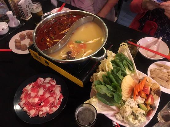 韓國城鴛鴦鍋(三)-克拉克美食-HELP語言學校