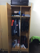 HELP語言學校宿舍-克拉克校區6人房-衣櫃-菲律賓遊學