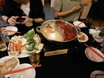 韓國城鴛鴦鍋(一)-克拉克美食-HELP語言學校