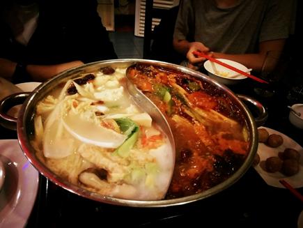 韓國城鴛鴦鍋(二)-克拉克美食-HELP語言學校