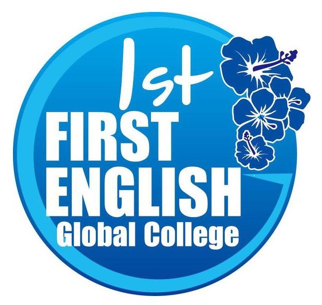 First English 接機服務 牌子