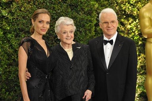 Jolie, Lansbury, Martin, Tosi accept Oscars | SunOnline