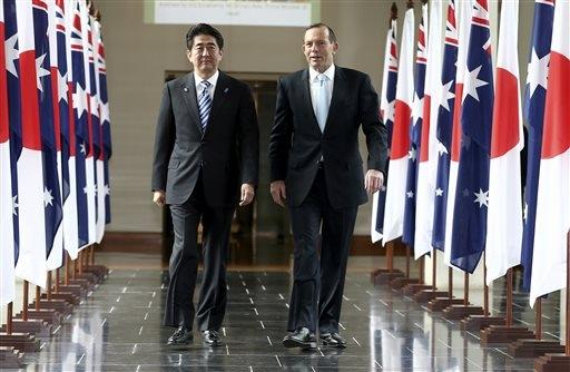 Australia Japan To Sign Free Trade Defense Deals Sunonline