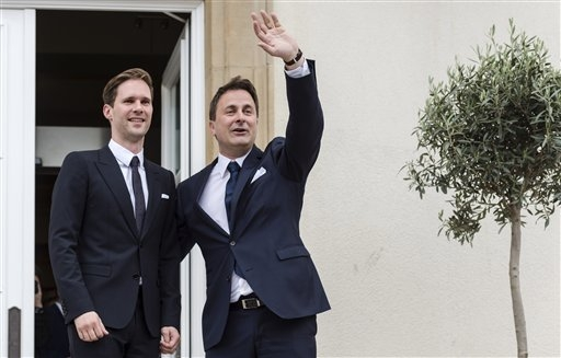 LUXEMBOURG (AP) — The prime minister of Luxembourg is marrying his partner  a year after the tiny, staunchly Roman Catholic nation's parliament  approved a ...