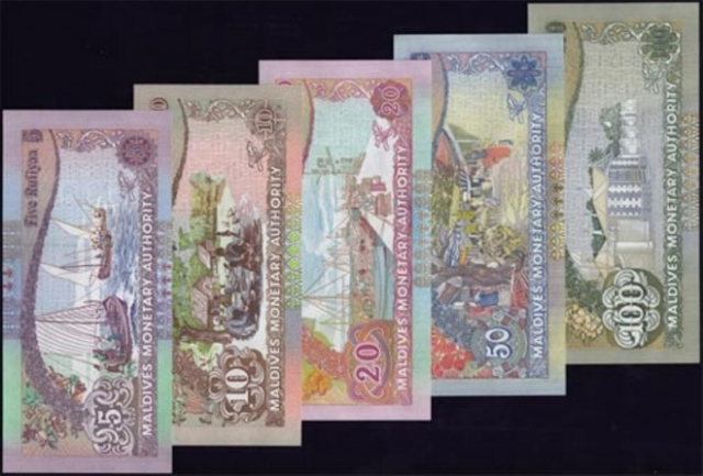 91 percent of old notes recovered, leaving MVR 790 mn