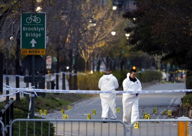 The Latest: School near attack site open with tight security