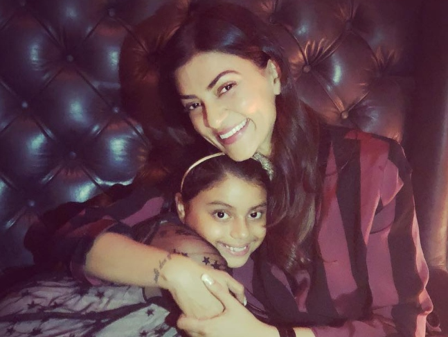 I did not sponsor a child  I became a mother,' says Sushmita