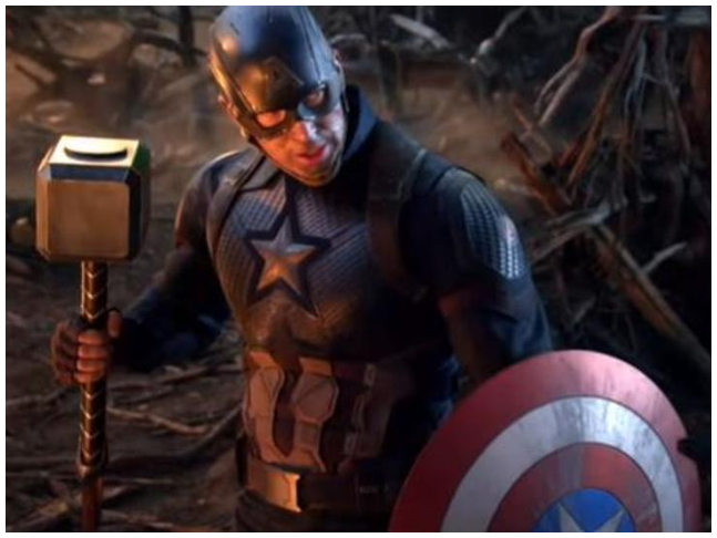 Watch Chris Evans Reveals He Liked Picking Up Thor S Hammer