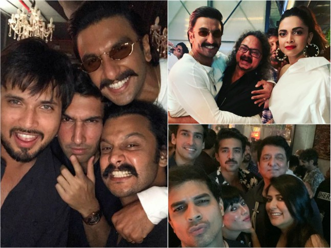 Image result for latest images of ranveer singh new movie 83 wrap up party