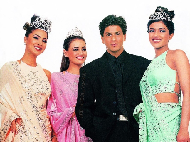 Throwback This 20 Year Old Picture Of Beauty Queens Priyanka
