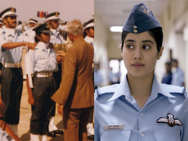 In Janhvi Kapoor S Film Opportunities Are Given To Women Says Kargil Veteran Gunjan Saxena