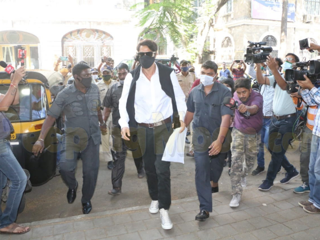I have nothing to do with drugs,' says Arjun Rampal as he leaves NCB's  office after six hours of interrogation