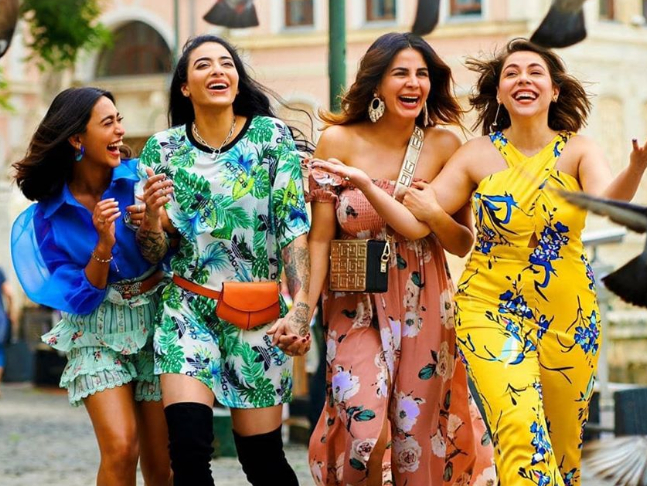 Exclusive: 'Wanted to break stereotype that the woman you want to bed can  also be the one you eventually wed,' say Maanvi, Kirti and Sayani about  their characters in 'Four More Shots