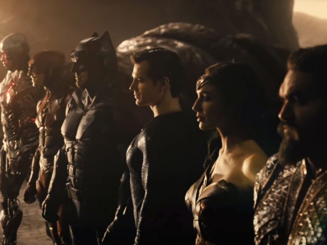 Zack Snyder's 'Justice League' trailer has more Darkseid and Superman  footage as the superheroes go 'Hallelujah' against the antagonist